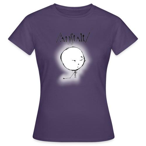 kreisling mit logo (schwarz) - Frauen T-Shirt
