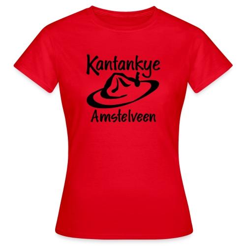 logo naam hoed amstelveen - Vrouwen T-shirt