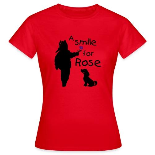A Smile for Rose - Maglietta da donna