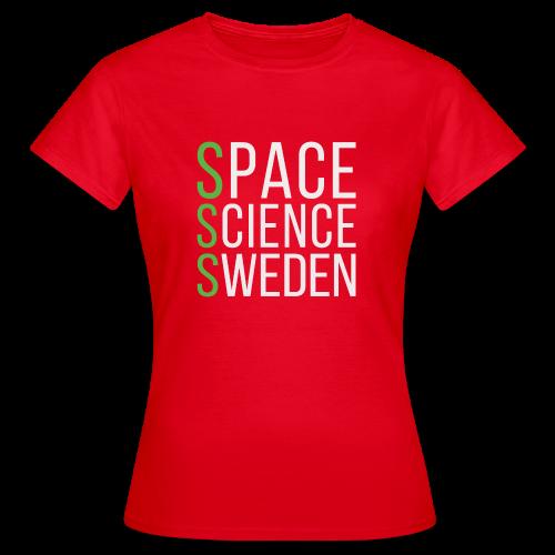 Space Science Sweden - vit - T-shirt dam