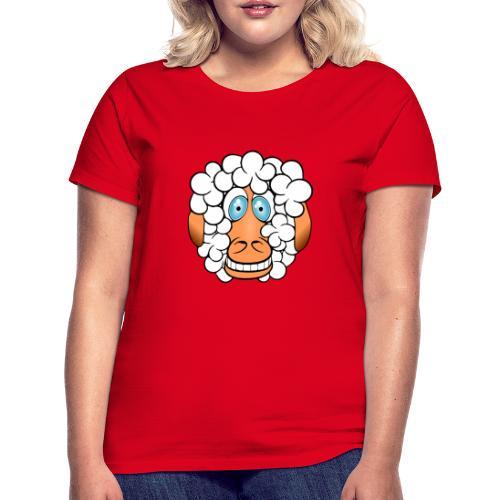 bad hair day crazy sheep - Frauen T-Shirt