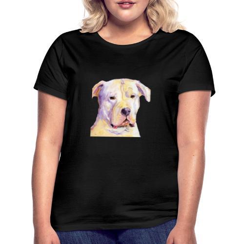 dogo argentino - Dame-T-shirt