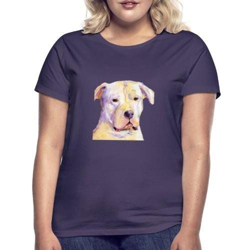 dogo argentino - Dame-T-shirt
