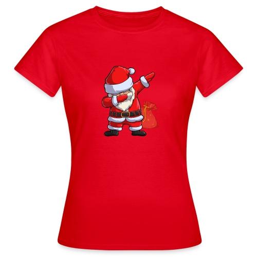 Dabbing santa - T-shirt Femme