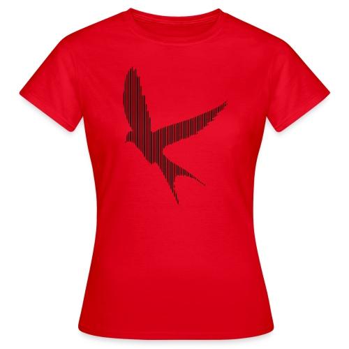 LINE BIRD 020b - Vrouwen T-shirt