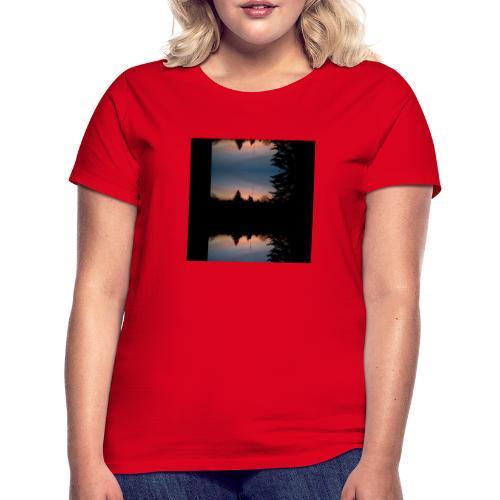 Sonnenhorizont Spiegelung Heller - Frauen T-Shirt