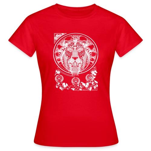 Lion Wit 1 1 - Vrouwen T-shirt