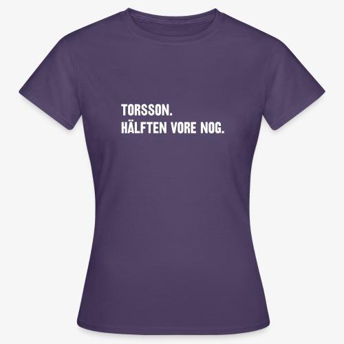 Hälften tshirt - T-shirt dam
