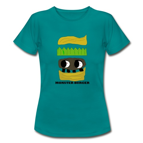 MONSTER BURGER - Frauen T-Shirt