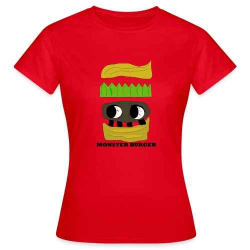 MONSTER BURGER - Frauen T-Shirt