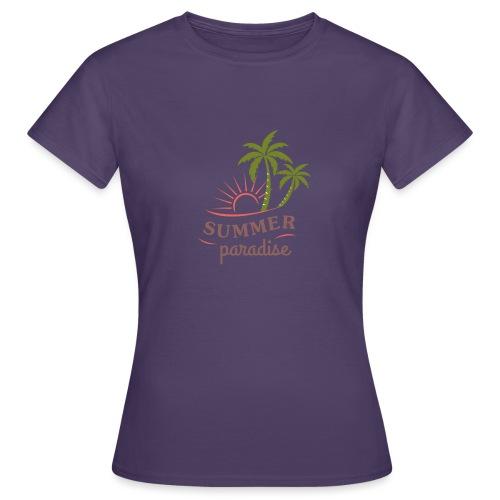 Summer paradise - Women's T-Shirt