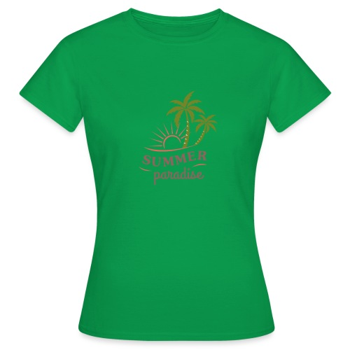 Summer paradise - Women's T-Shirt