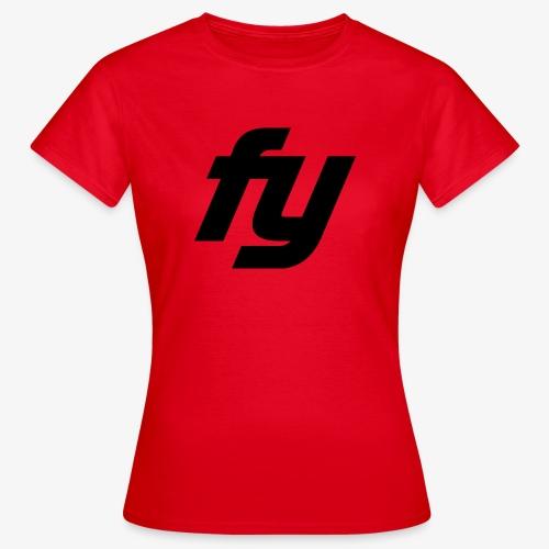 Logo swaggy Schwarz - Frauen T-Shirt