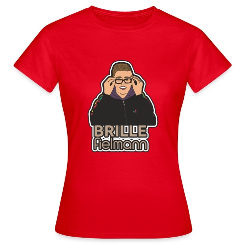 Brille - Frauen T-Shirt