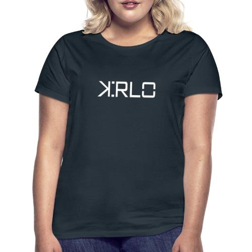 Kirlo Logo Blanco - Camiseta mujer
