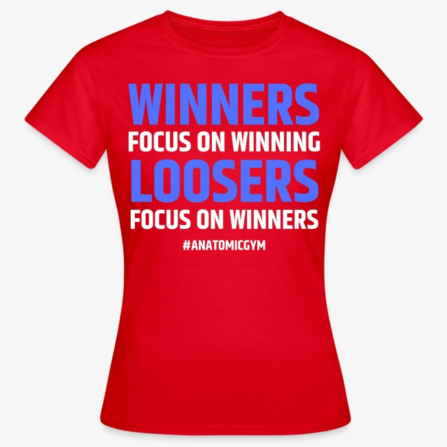 WINNERS FOCUS ON WINNING