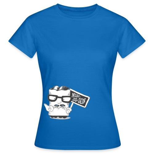 musssosein frei png - Frauen T-Shirt