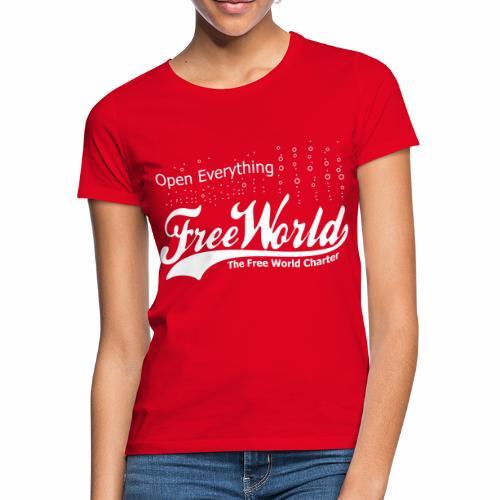 Open Everything - Women's T-Shirt