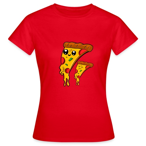 pizza Amigos Pizza Friends - Camiseta mujer