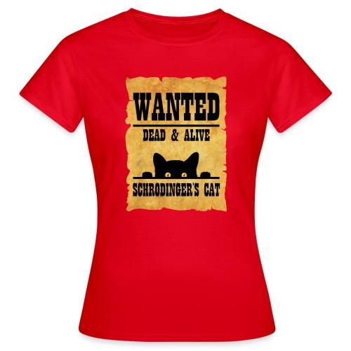 Gato de Schrodinger - Camiseta mujer
