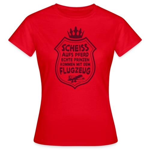 Scheiss aufs Pferd - Frauen T-Shirt
