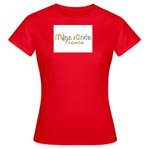 logoMRF_national-or-argen - T-shirt Femme