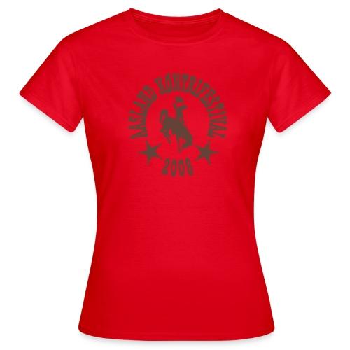 akf logo 2008 - T-skjorte for kvinner