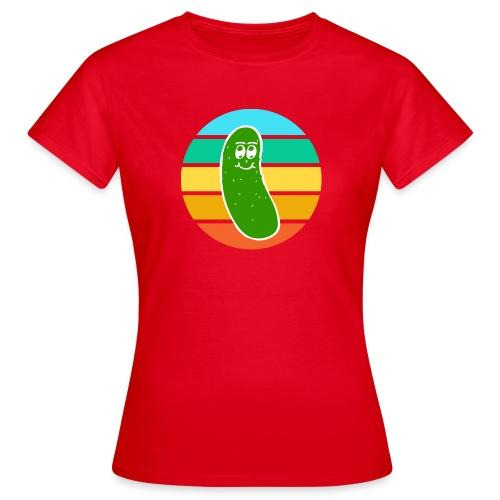 Vintage Colored Pickle #6 - Maglietta da donna