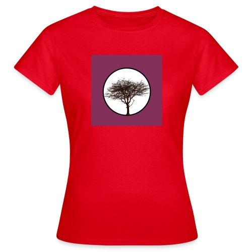 Baum in Kreis - Frauen T-Shirt