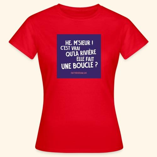 La boucle - T-shirt Femme