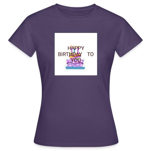 happy birthday 1 - Women's T-Shirt
