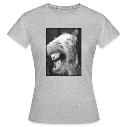 lachender Esel - Frauen T-Shirt