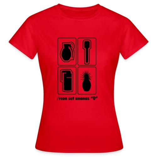 muhananasmotiv - Frauen T-Shirt