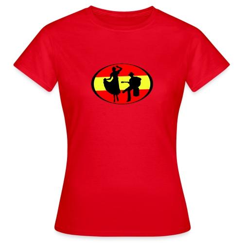 flamenco dessin - T-shirt Femme