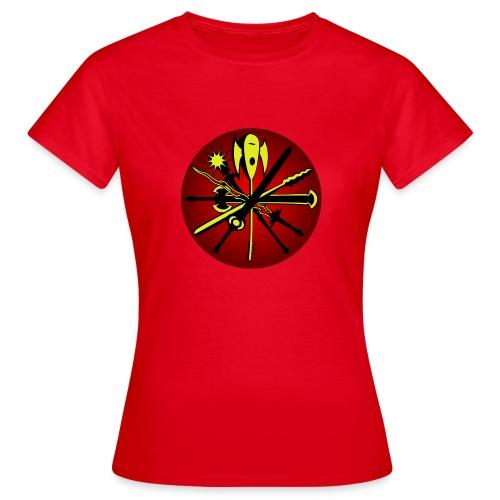 Iron Dawn v2 - T-skjorte for kvinner