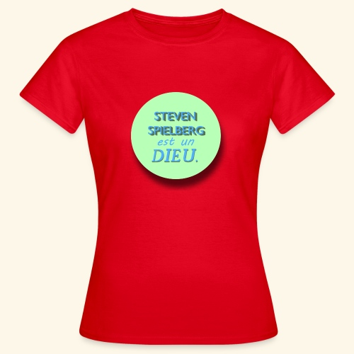 Steven Spielberg - Collection Flat Circle - T-shirt Femme