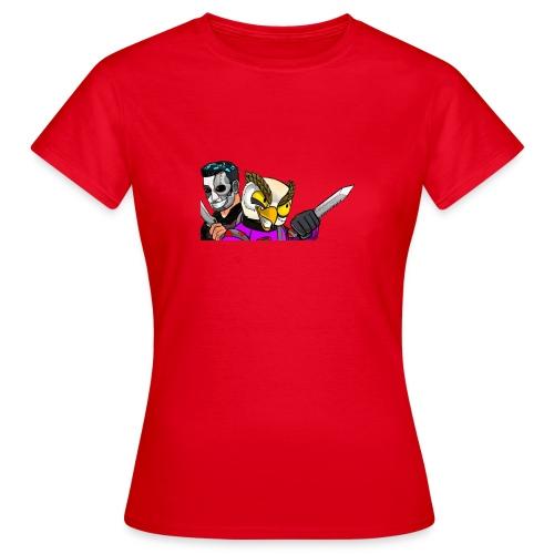 Black ops Extreme merch both my GTA characters - Women's T-Shirt