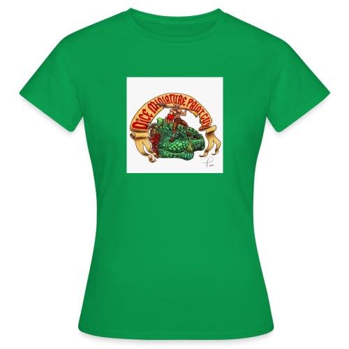 DiceMiniaturePaintGuy - Women's T-Shirt