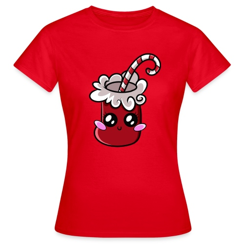 Chaussette de Noël Kawaii ! - T-shirt Femme