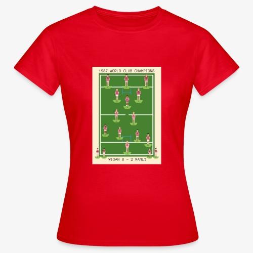 1987 World Club Champions - Women's T-Shirt