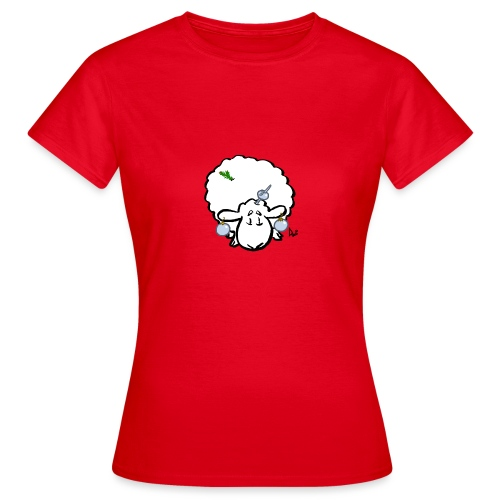 Christmas Tree Sheep - Vrouwen T-shirt