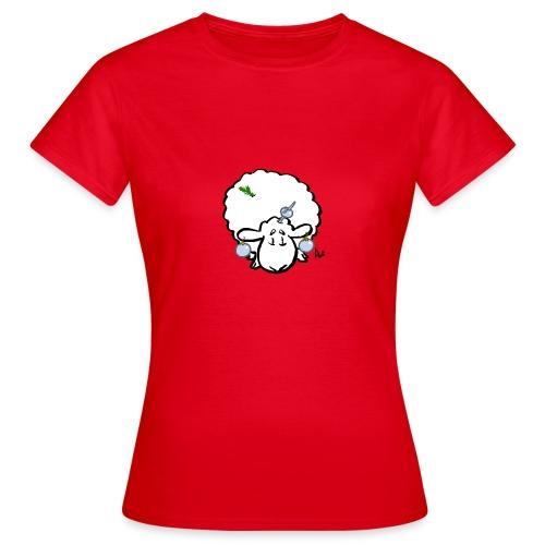 Juletræ får - Dame-T-shirt