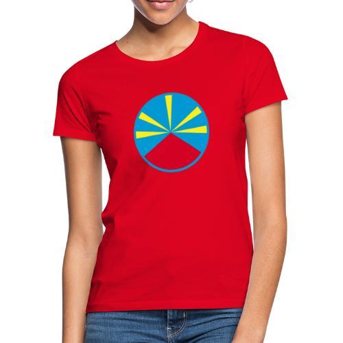 Drapeau 974 - T-shirt Femme
