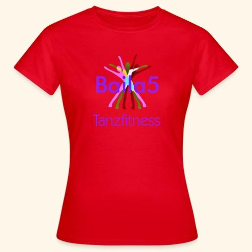 Baila5 Tanzfitness violet - Frauen T-Shirt