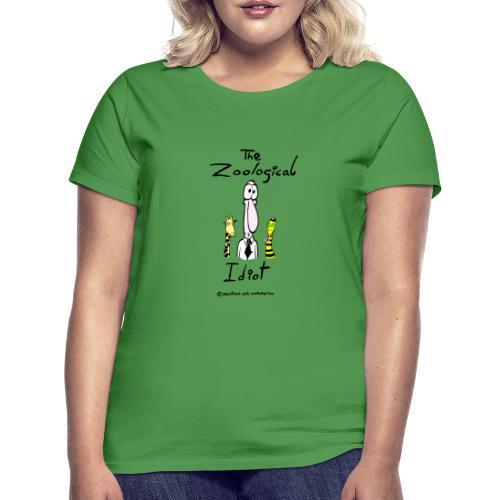 Zoological idiot, colores claros - Camiseta mujer