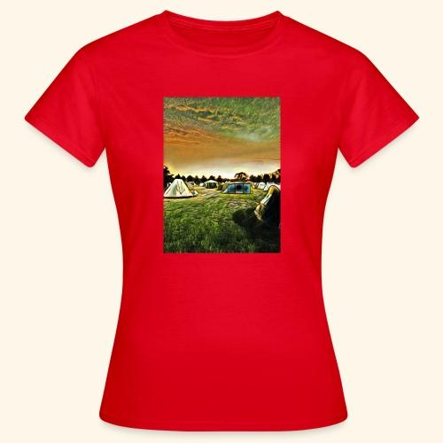 Die Zeltwiese - Frauen T-Shirt