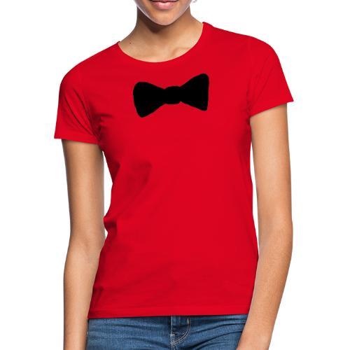 Black Bow tie - T-shirt dam
