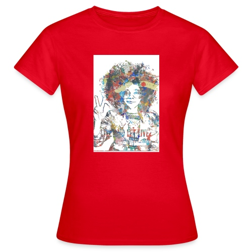 Live and let live, Geschenkidee - Frauen T-Shirt