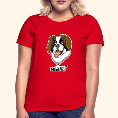 Nice Dogs san bernardo - Maglietta da donna