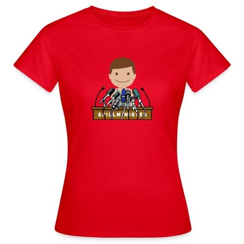 Spillminister logoen - T-skjorte for kvinner
